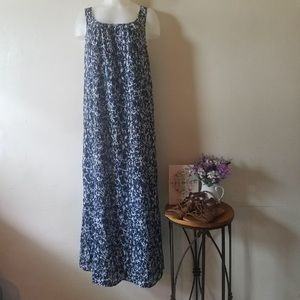 MICHAEL KORS Blue and white dress size S